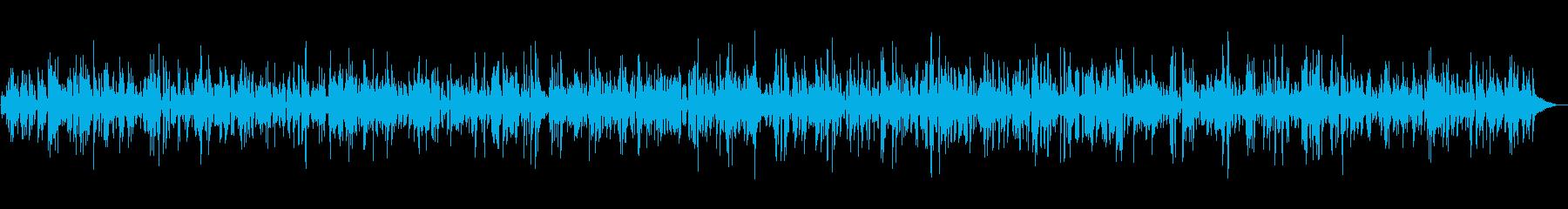 ゆったり癒し系ジャズ&ボサノバBGMの再生済みの波形