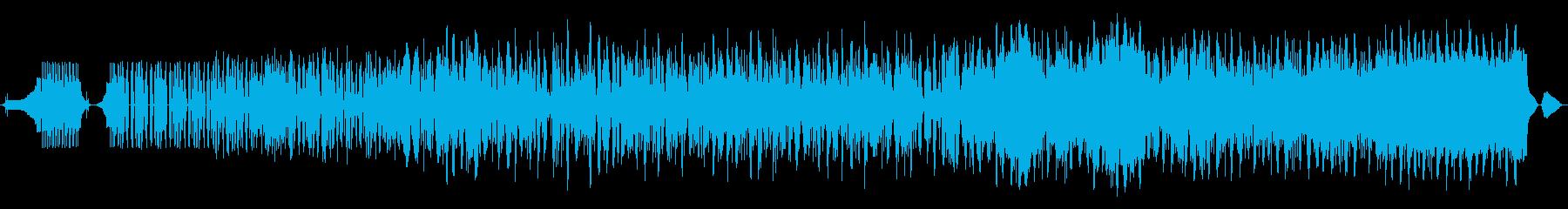 生活音を楽曲に取り入れた実験的音楽の再生済みの波形