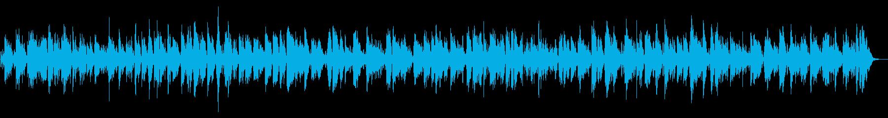 夜の酒場で流れてるお洒落なジャズBGMの再生済みの波形