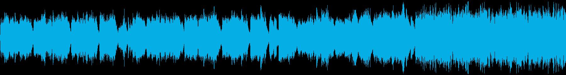鉱山の妖精ドワーフをイメージした行進曲の再生済みの波形