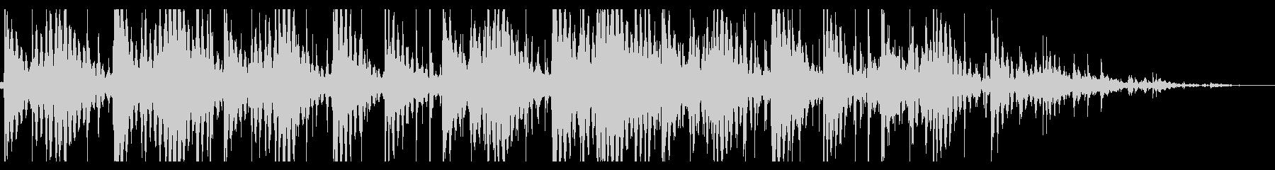 寂しいローファイヒップホップ_391_3の未再生の波形