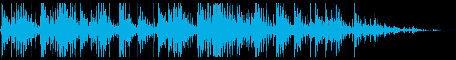 寂しいローファイヒップホップ_391_3の再生済みの波形
