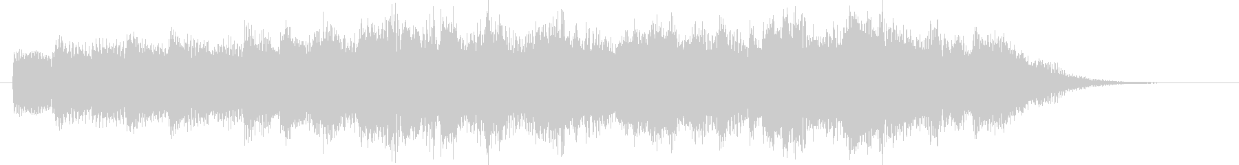 ピアノ/重厚・高級・映画感のあるSE-2の未再生の波形