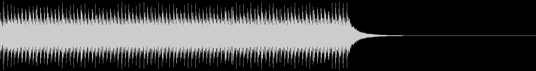 チリリリ...。非常ベルD(高・長)の未再生の波形
