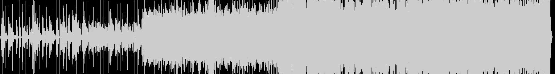 ファンタジー曲 弦 管 合唱 電子ドラムの未再生の波形