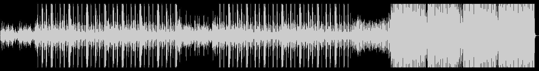 ヒップホップインスト&ダンストラックの未再生の波形