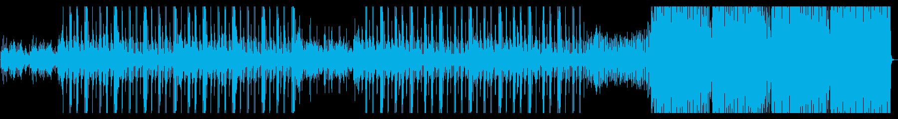 ヒップホップインスト&ダンストラックの再生済みの波形