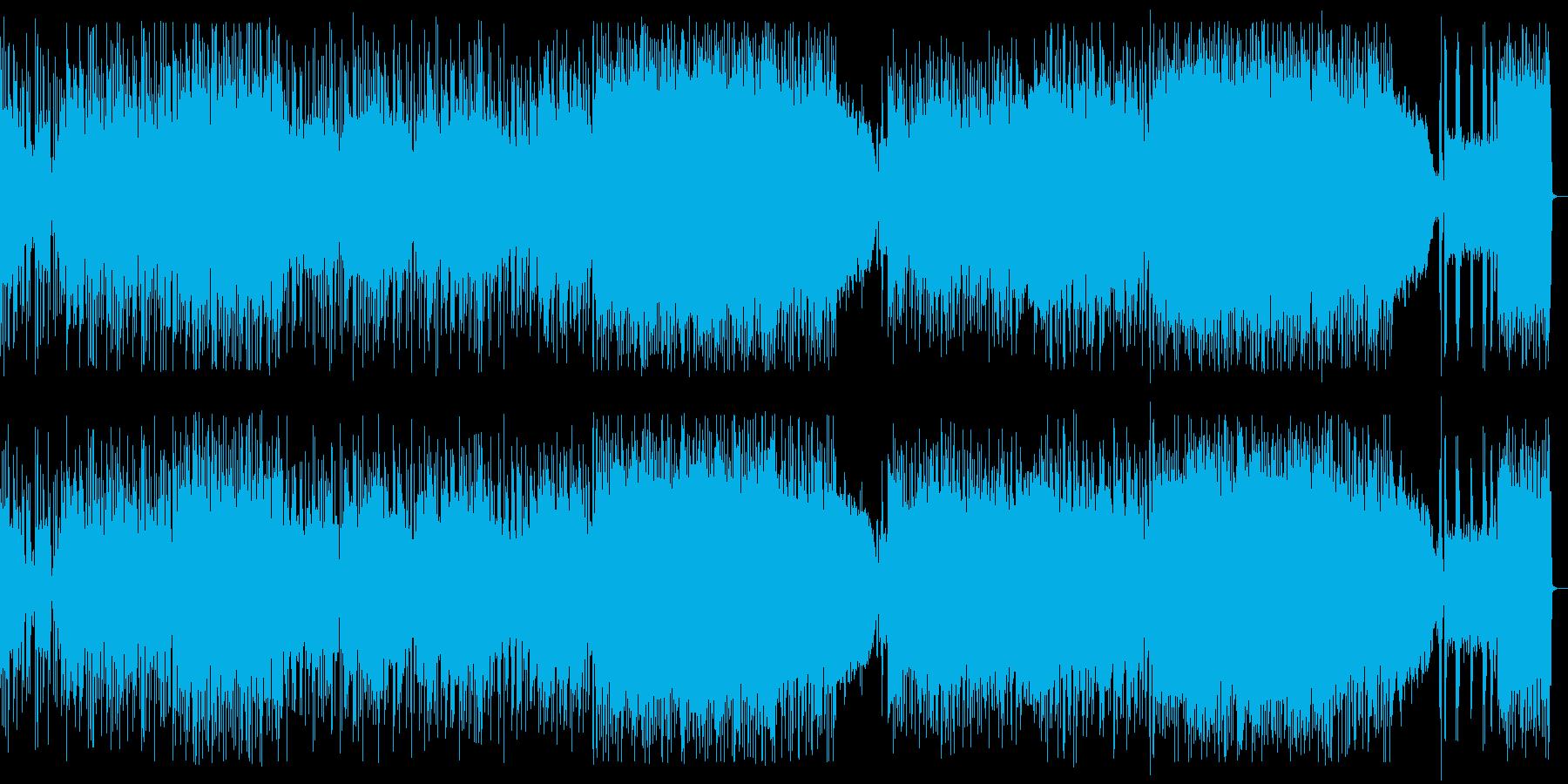 ファンク、ラウドロック、カッコいいリフの再生済みの波形