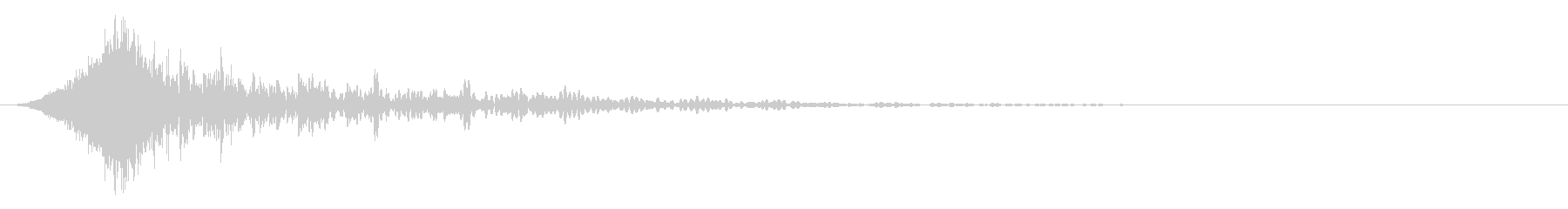 パワフルなフォースフーシュ1の未再生の波形