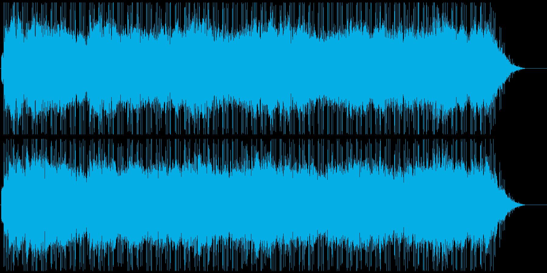 ほんわか優しいイージーリスニングの再生済みの波形
