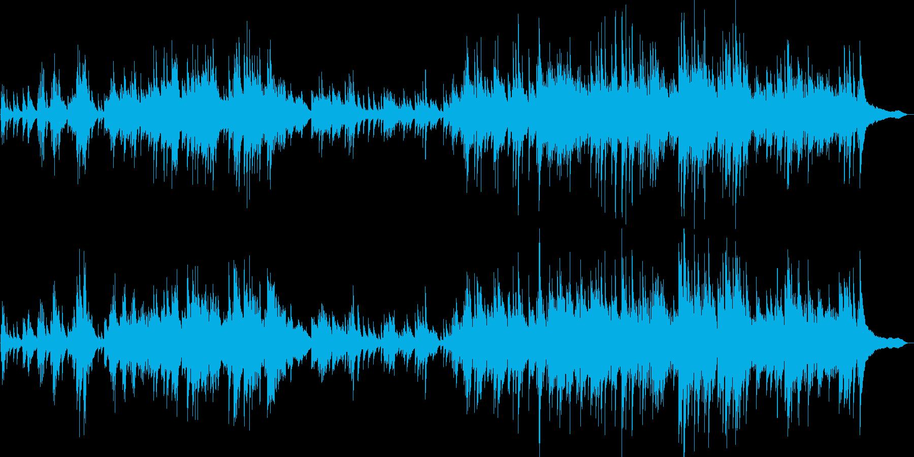 生演奏 切なく感動的なピアノソロの再生済みの波形