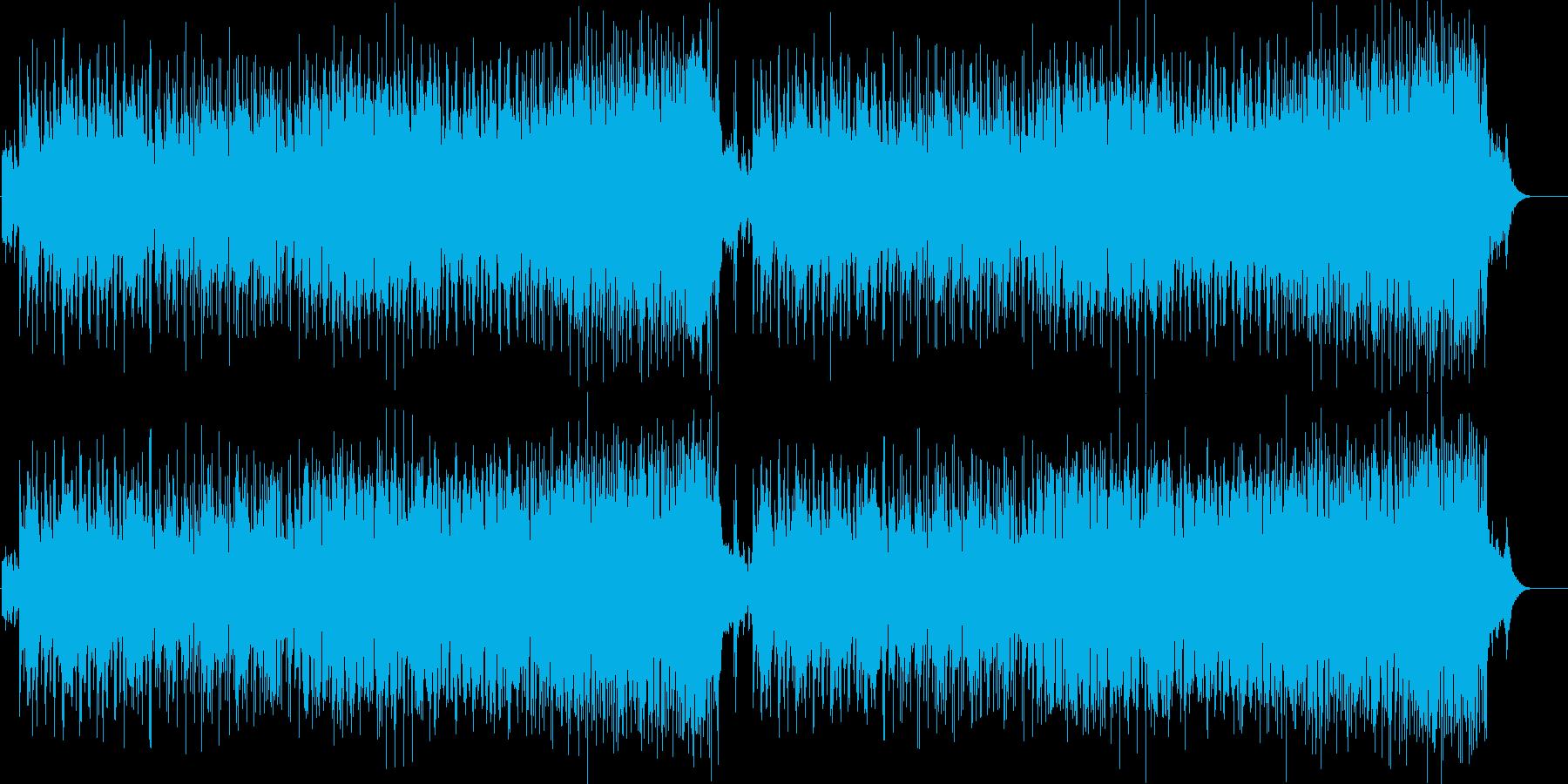 懐かしくスタンダードなポップ/ジャズの再生済みの波形