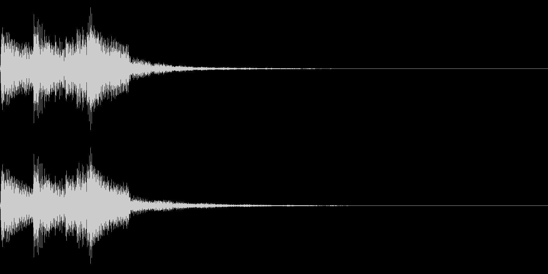 チャララン(回復クリア/ファミコン/魔法の未再生の波形