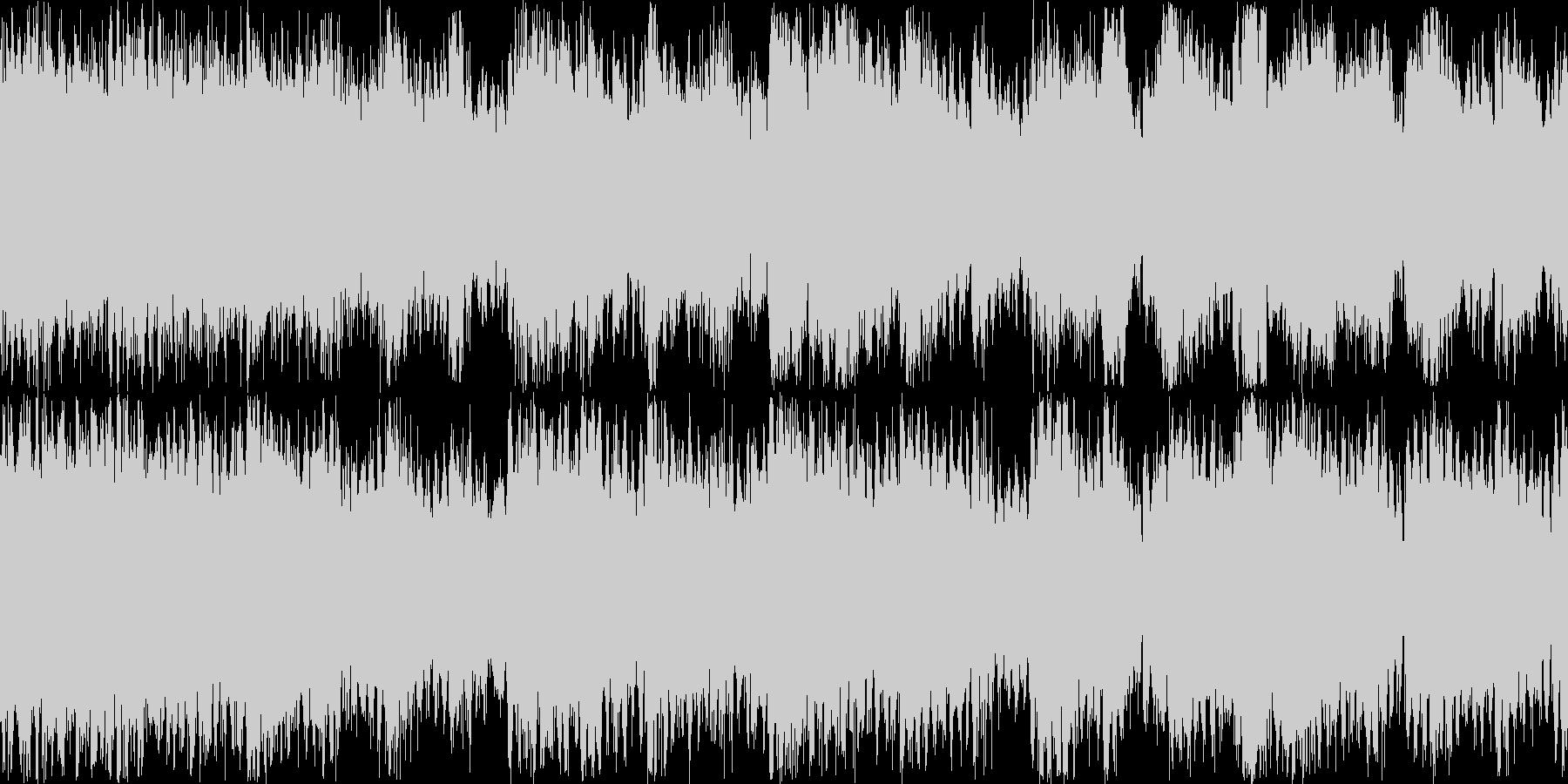 RPG-BGM 重厚オーケストラ楽曲の未再生の波形