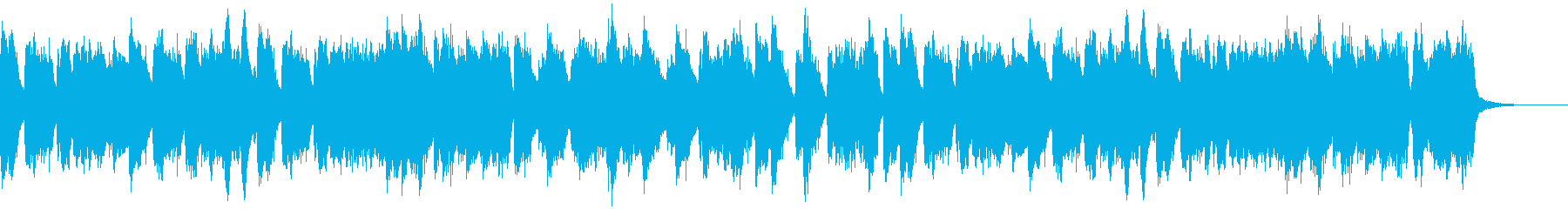 煌びやかで華やかなチェンバロ独奏曲の再生済みの波形