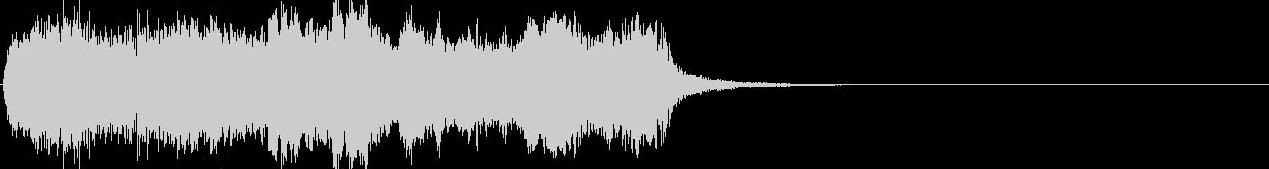 軽い/軽め/小さい ファンファーレ8の未再生の波形