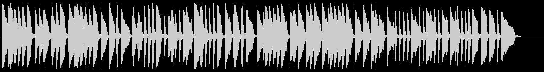 ロンドン橋 ピアノver.の未再生の波形