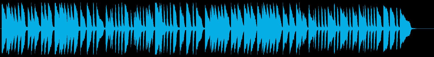 ロンドン橋 ピアノver.の再生済みの波形