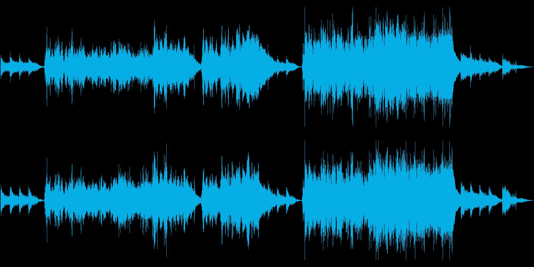 生演奏《 爽やかなチェロのヒーリング曲》の再生済みの波形