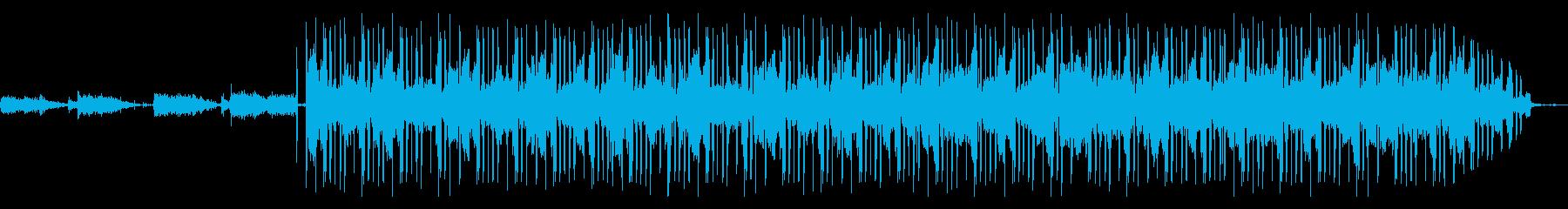 Lofi Hiphop/カフェBGMの再生済みの波形