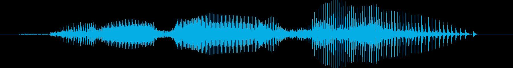 働く車 - ブルドーザーの再生済みの波形