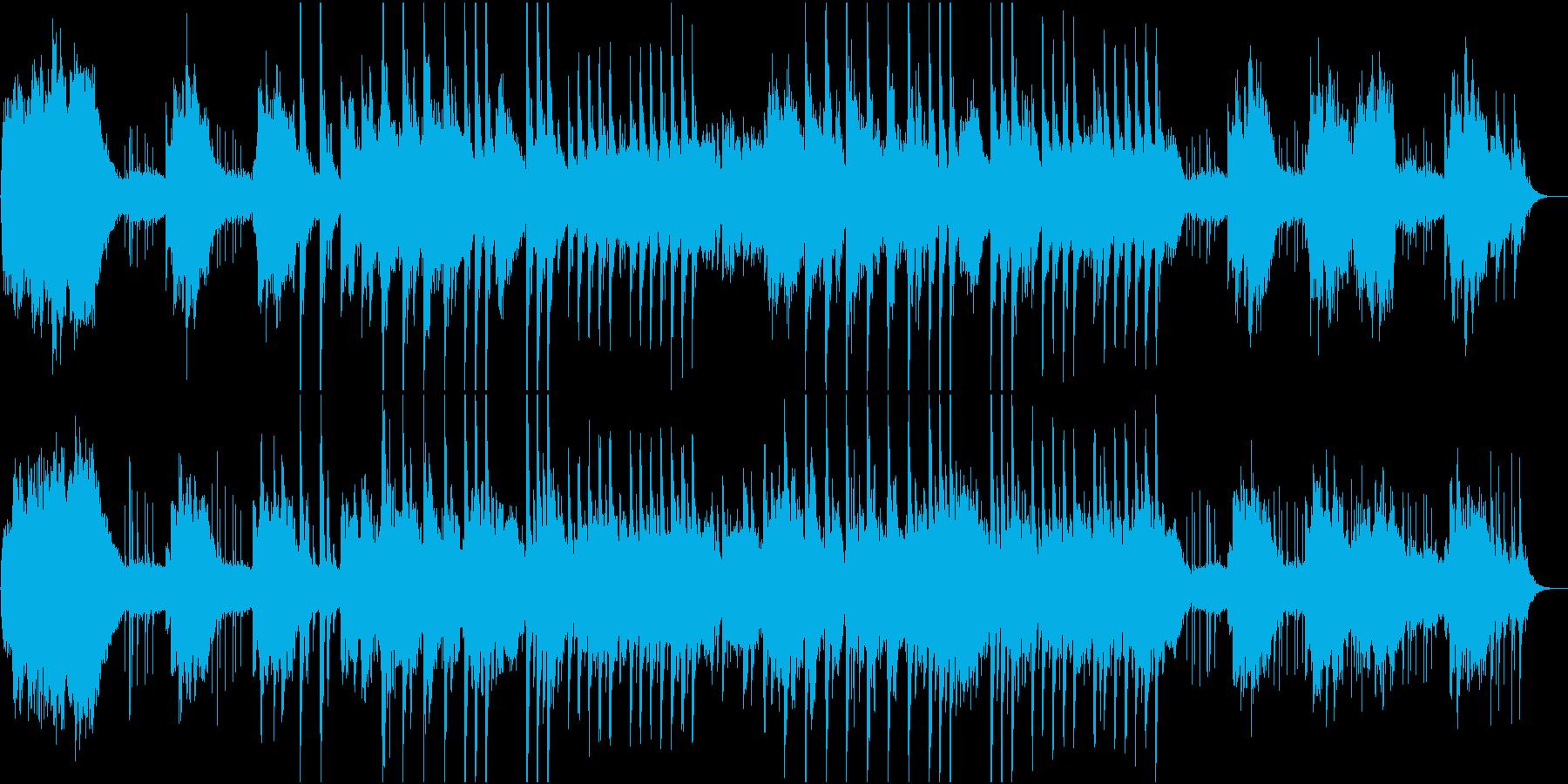 夢、睡眠のアンビエントBGMの再生済みの波形