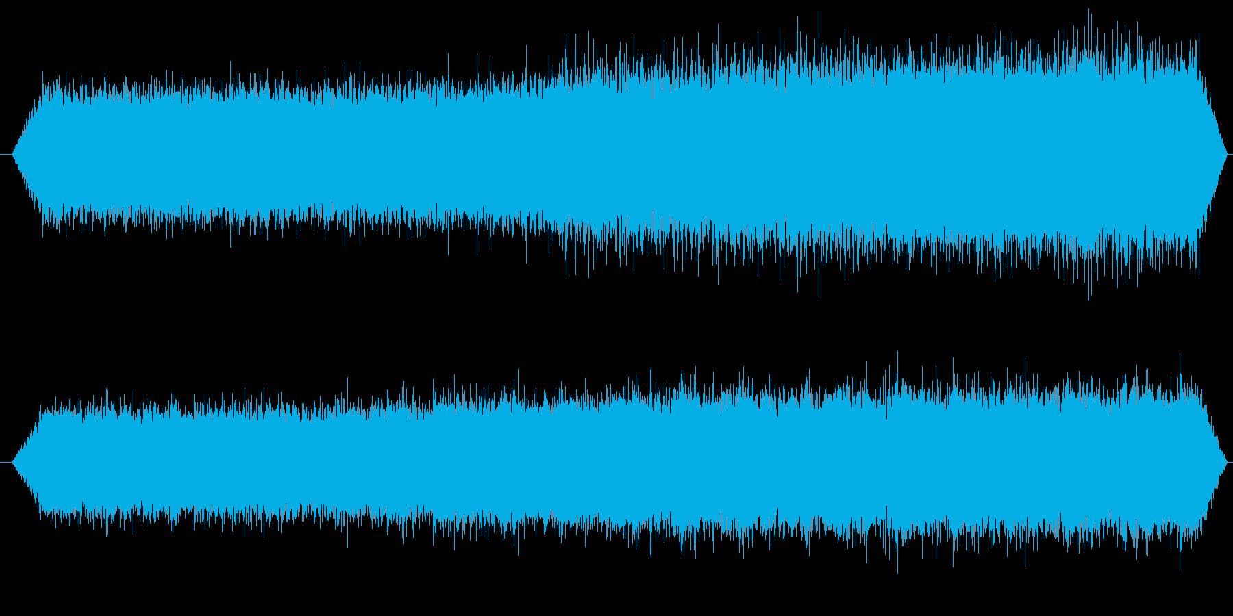 ミンミンゼミとアブラゼミ_01の再生済みの波形