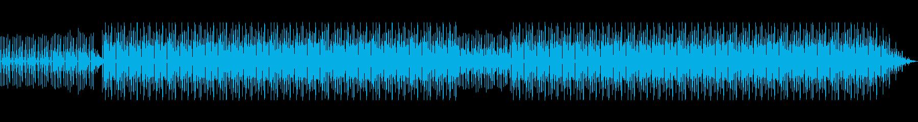 ゆったりとしたChill Hip-Hopの再生済みの波形