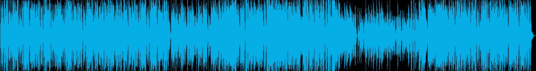 ボサノバ風ピアノトリオ(スタンダード)の再生済みの波形
