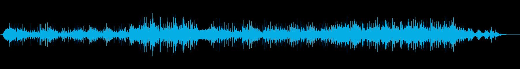 切々と歌い上げるバラードの再生済みの波形