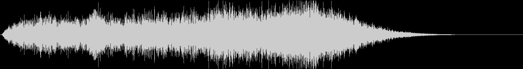 ホラー系効果音17の未再生の波形