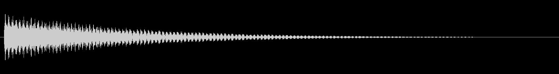 複数のシンセがピッチで落ちるテクス...の未再生の波形