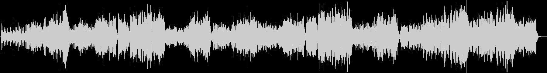 中世のワルツ風オーケストラの未再生の波形