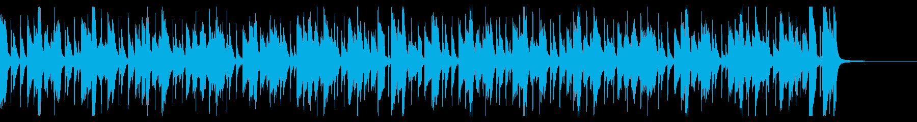 わくわくピアノジャズ(2回)の再生済みの波形