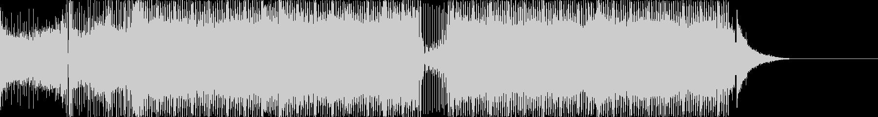 パワフルでエレクトロなダンスBGMの未再生の波形