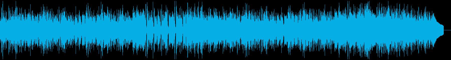 OP向き/明るくかわいいポップスの再生済みの波形