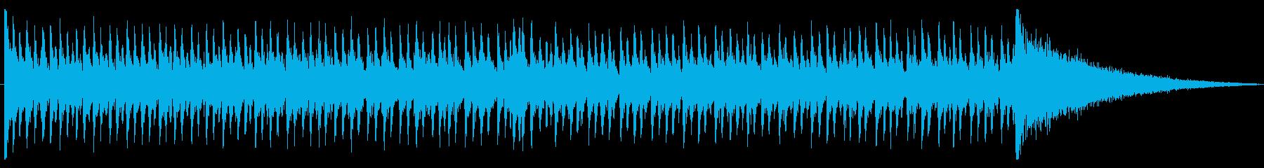 結果発表 盛り上がるドラムロール②の再生済みの波形