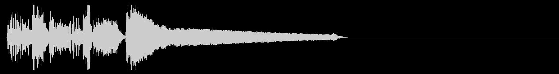アップライトベース 場面切り替わるの未再生の波形