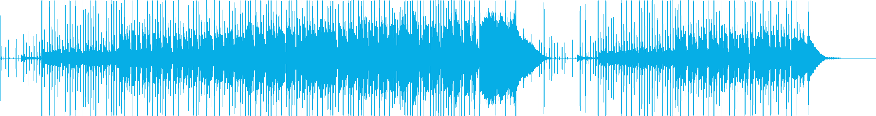 日常系学園アニメの教室のBGMの再生済みの波形