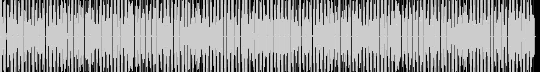 ファミコンブルース進行ステージ曲の未再生の波形