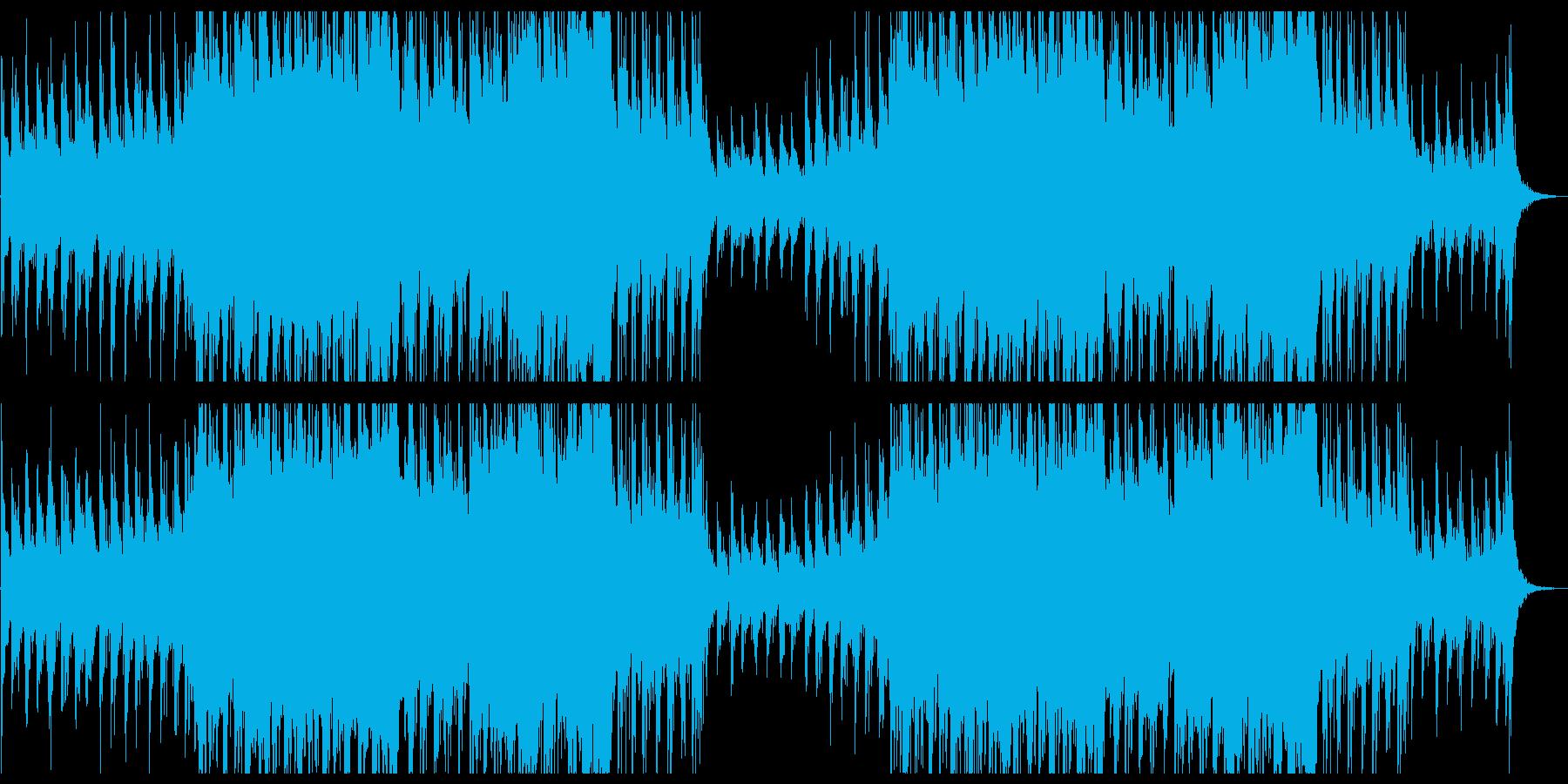 IronHeartの再生済みの波形
