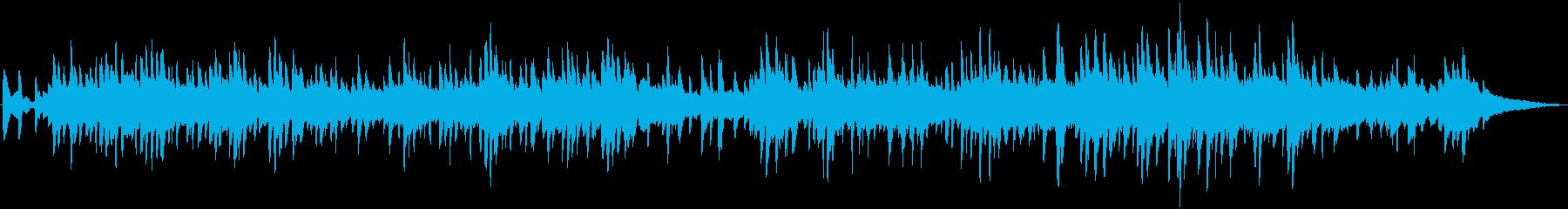 オシャレで癒しのジャズ風ピアノソロ生演奏の再生済みの波形