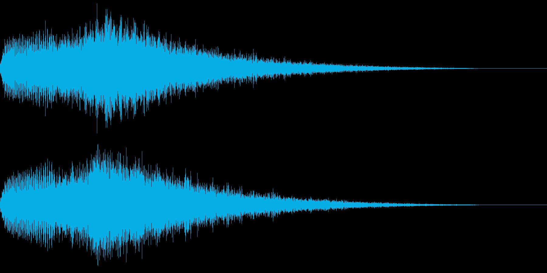 攻撃 魔法(エナジー系/放出系/氷属性の再生済みの波形