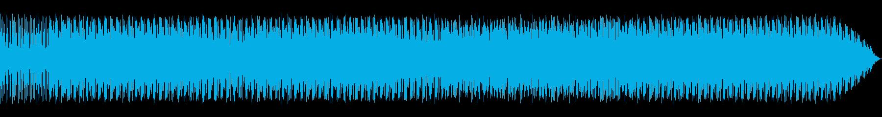 電源 発電 ロックギターと電子音楽の再生済みの波形