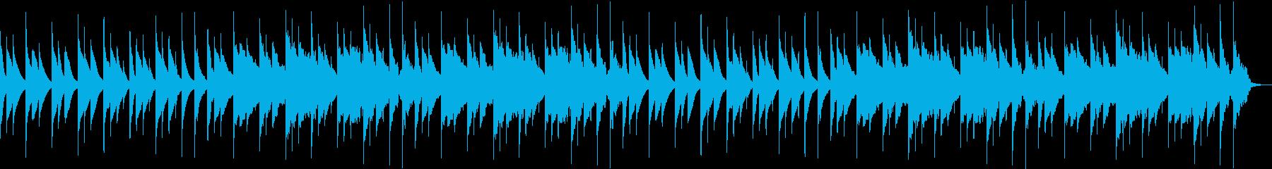 赤ちゃんにぴったりな可愛らしいサウンドの再生済みの波形