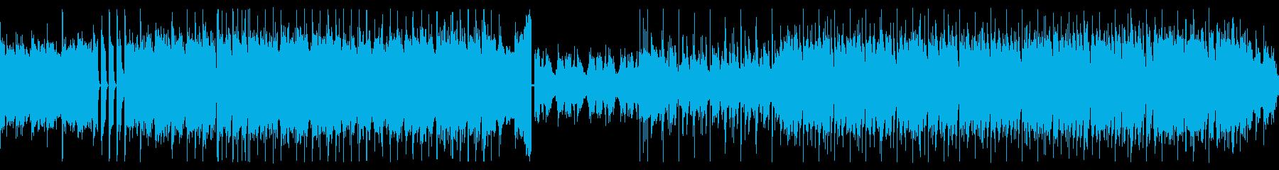 ループ可/アングラ感漂う登場BGMの再生済みの波形