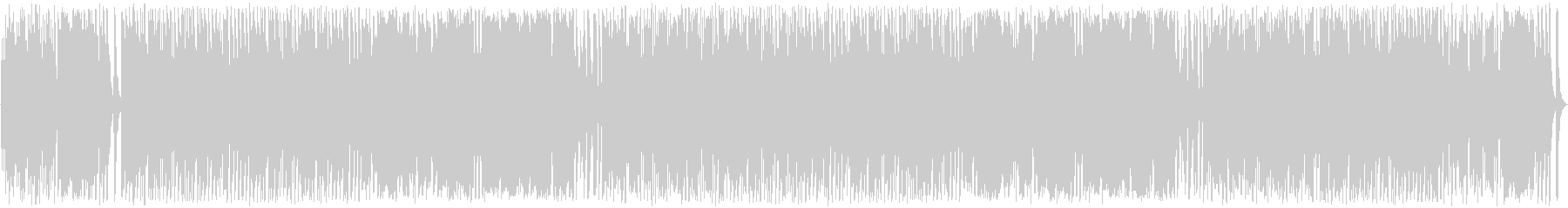ゆっくり優しいメルヘンなオルガンの曲の未再生の波形