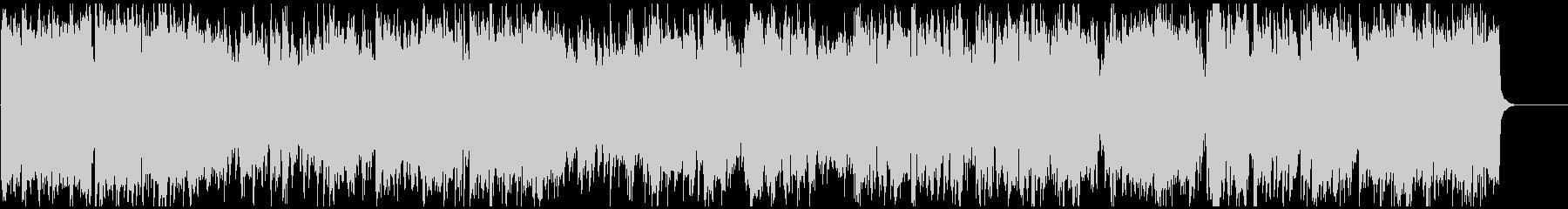 ジャズ+ドラムンベース 疾走感ある生音系の未再生の波形