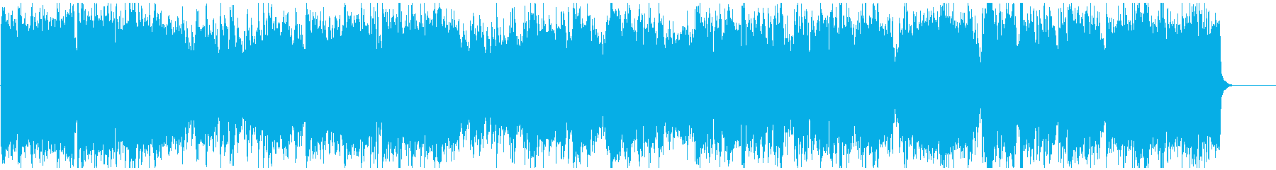 ジャズ+ドラムンベース 疾走感ある生音系の再生済みの波形