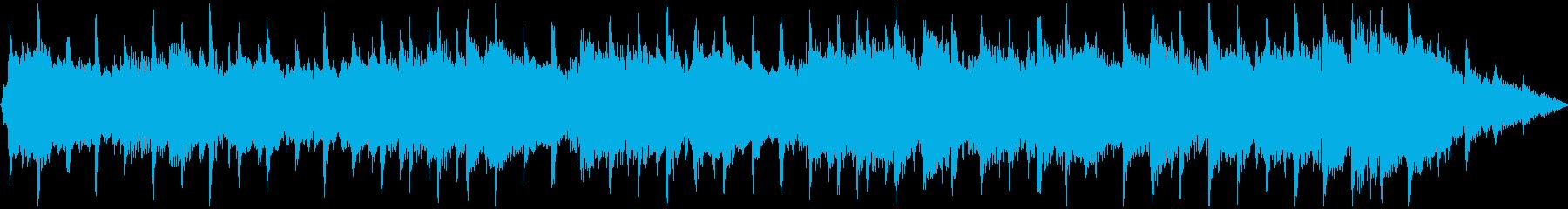 ほのぼのした軽快アコースティックポップの再生済みの波形